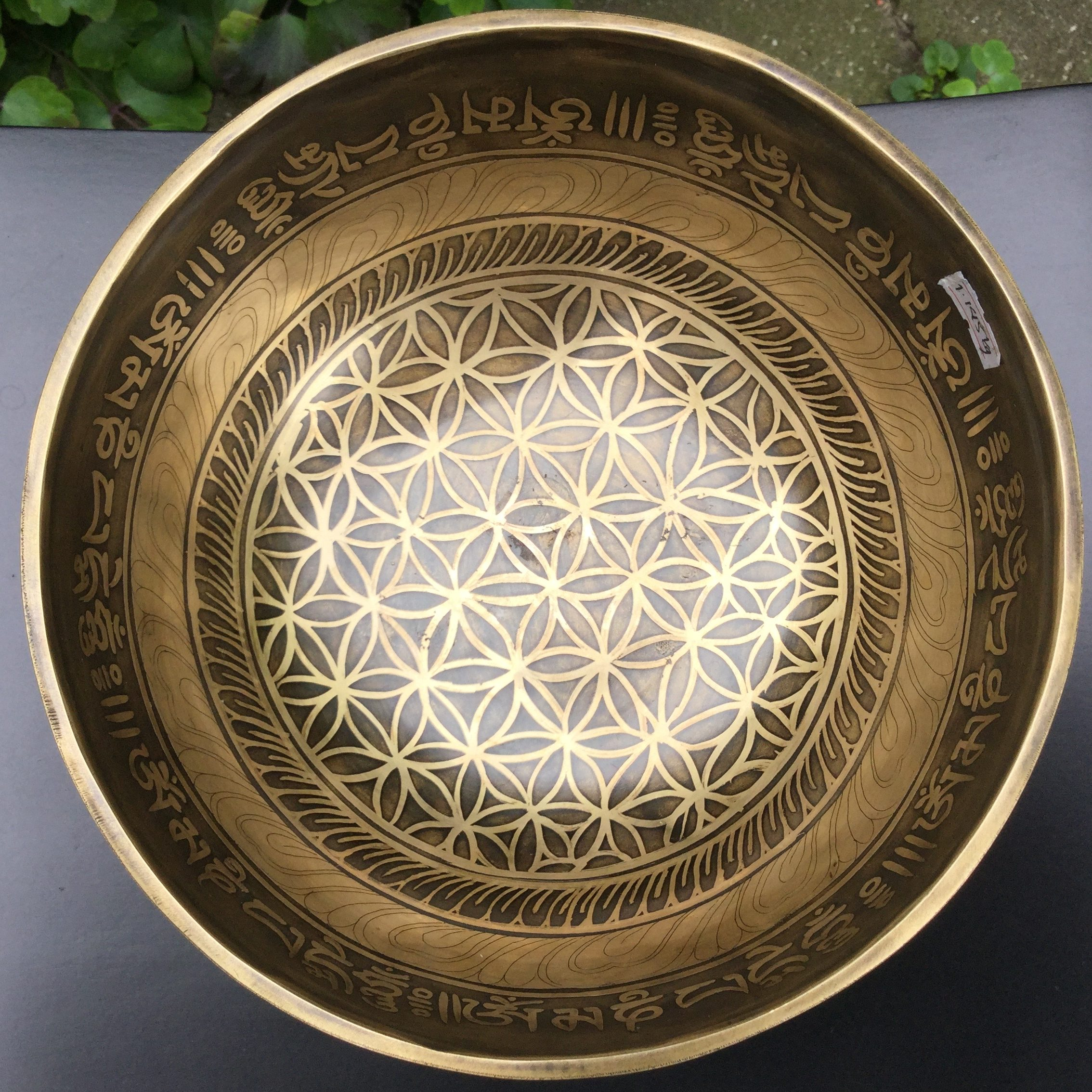klankschaal flower of life